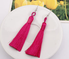 Load image into Gallery viewer, Bohemian Multicolor Tassel Accessories Earrings