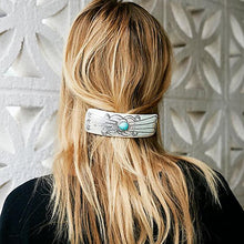 Load image into Gallery viewer, Fashion Retro Gemstone Gold Silver Hair Clips Accessories Headwear