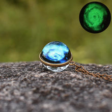 Load image into Gallery viewer, Science Fiction Universe Starry Sky Light Shining Hand Pendant