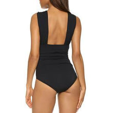Load image into Gallery viewer, Cross Halter One Piece Swimsuit