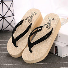 Load image into Gallery viewer, Summer Beach Wedge Flip Flops Women Sandals Flip Flops Slippers