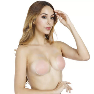 Silicone Bra Cosplay Costumes Props Accessories Invisibility NuBra Pasties Topspin Lift Breast Bra Circular