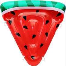 Load image into Gallery viewer, Slice Watermelon inflatable floating drainage supplies floating bed swimming Toy