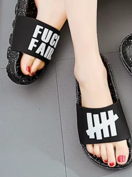 Flip-flops outdoor beach shoes ins sandals
