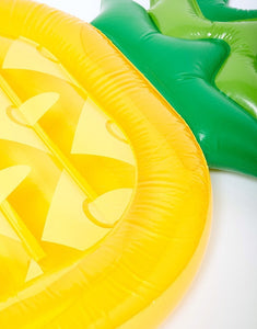 Pineapple inflatable floating drainage supplies floating bed swimming toy