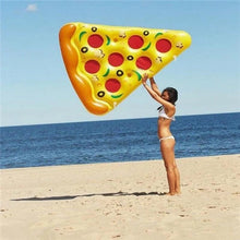 Load image into Gallery viewer, Slice Pizza inflatable floating Swimming Toy