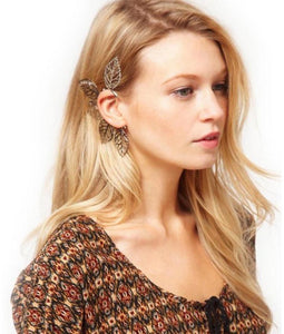 Retro One Piece Big Leaves Ear Cuff Earring