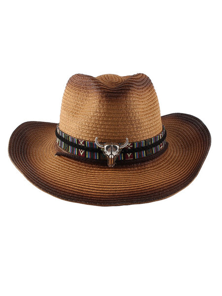 New Style Women Fashion Big Brim Western Cowboy Hat