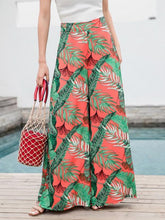 Load image into Gallery viewer, Casual Bohemian Beach High Waist Wide Leg Pants