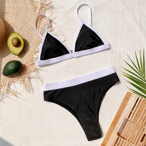 Split Swimsuit Outside Single Swimsuit Stitching Bikini
