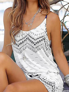 Sling Beach Mini Jumpsuit