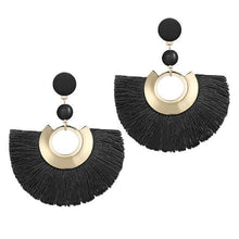 Load image into Gallery viewer, Bohemian Big Tassel Drop Women Fringe Handmade Brincos Statement Fashion Woman Earrings