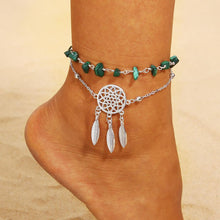 Load image into Gallery viewer, Boho Beach Section Beads Foot Chain Jewelry Anklet
