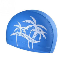 Load image into Gallery viewer, 1 Pc Adult Elastic Swimming Air Permeable Hat Soft Bathing Printed Caps Swim Hat