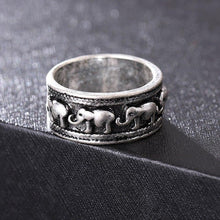 Load image into Gallery viewer, Ethnic Style Classic Elephant Pattern Fashion Ring