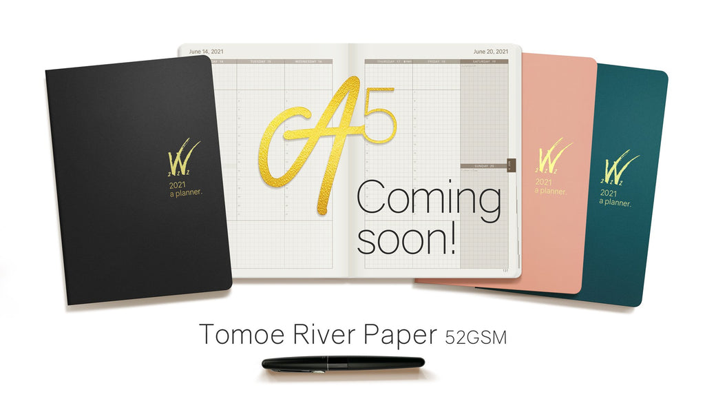 2021 A5 Tomoe River Paper Planner by Wonderland 222
