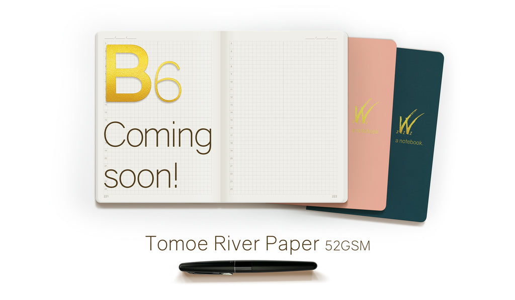B6 52gsm Tomoe River Paper Notebooks Coming soon by Wonderland 222