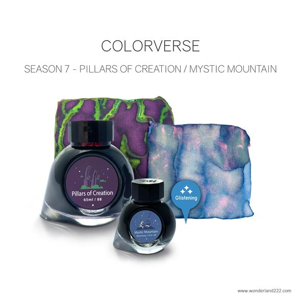 Colorverse Season 7 Inks Pillars of Creation and Mystic Mountain