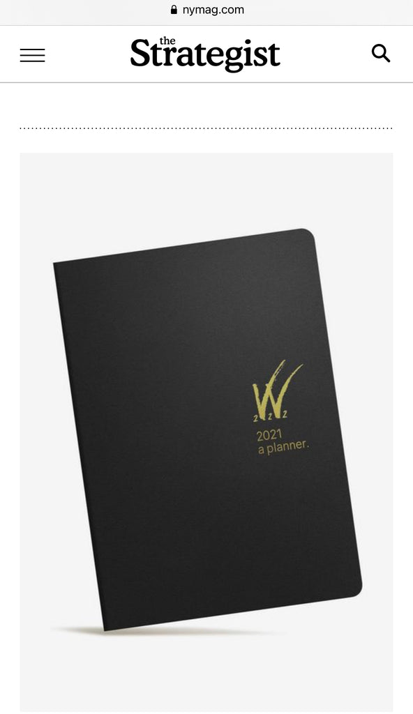 Wonderland 222 Tomoe River Paper Planners and Notebooks named by New York Magazine one of best weekly planners for 2021