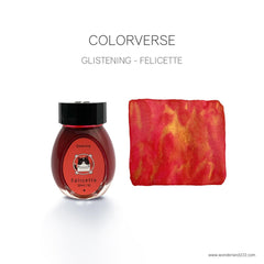 Coloverse Glistening Inks now Available at Wonderland 222