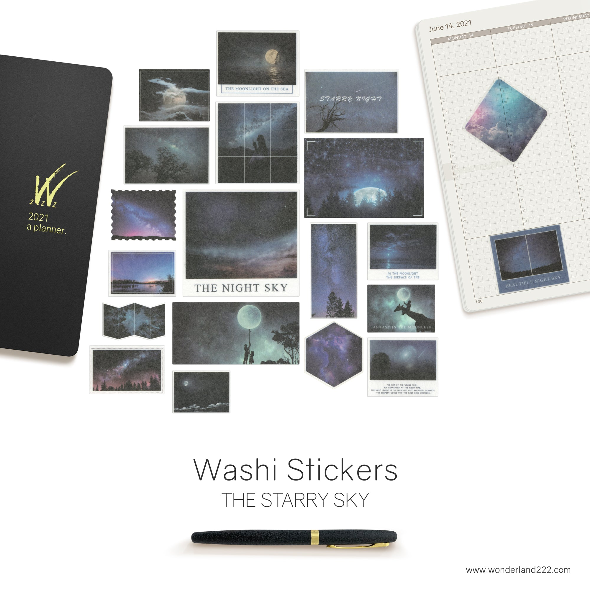 Washi Stickers