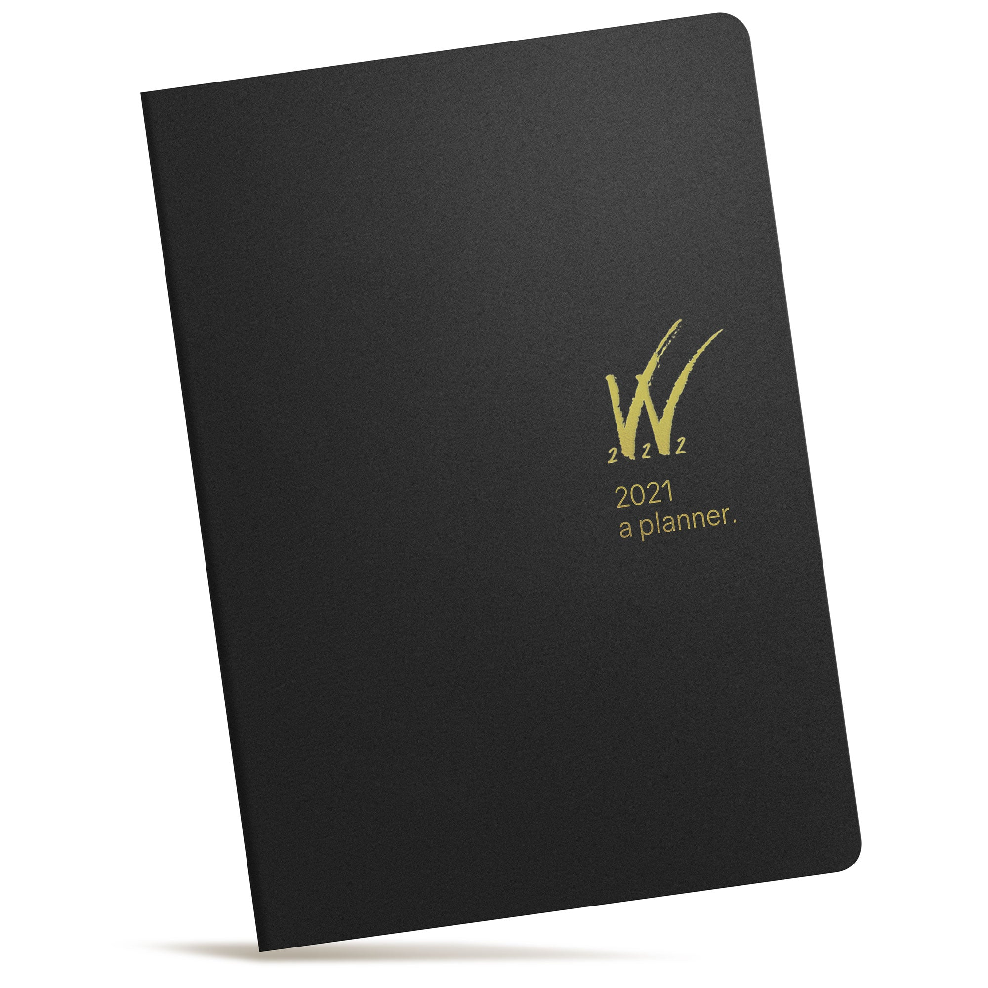 A5 2021 Tomoe River Paper Planner 52gsm by Wonderland 222 Black Gold logo W222