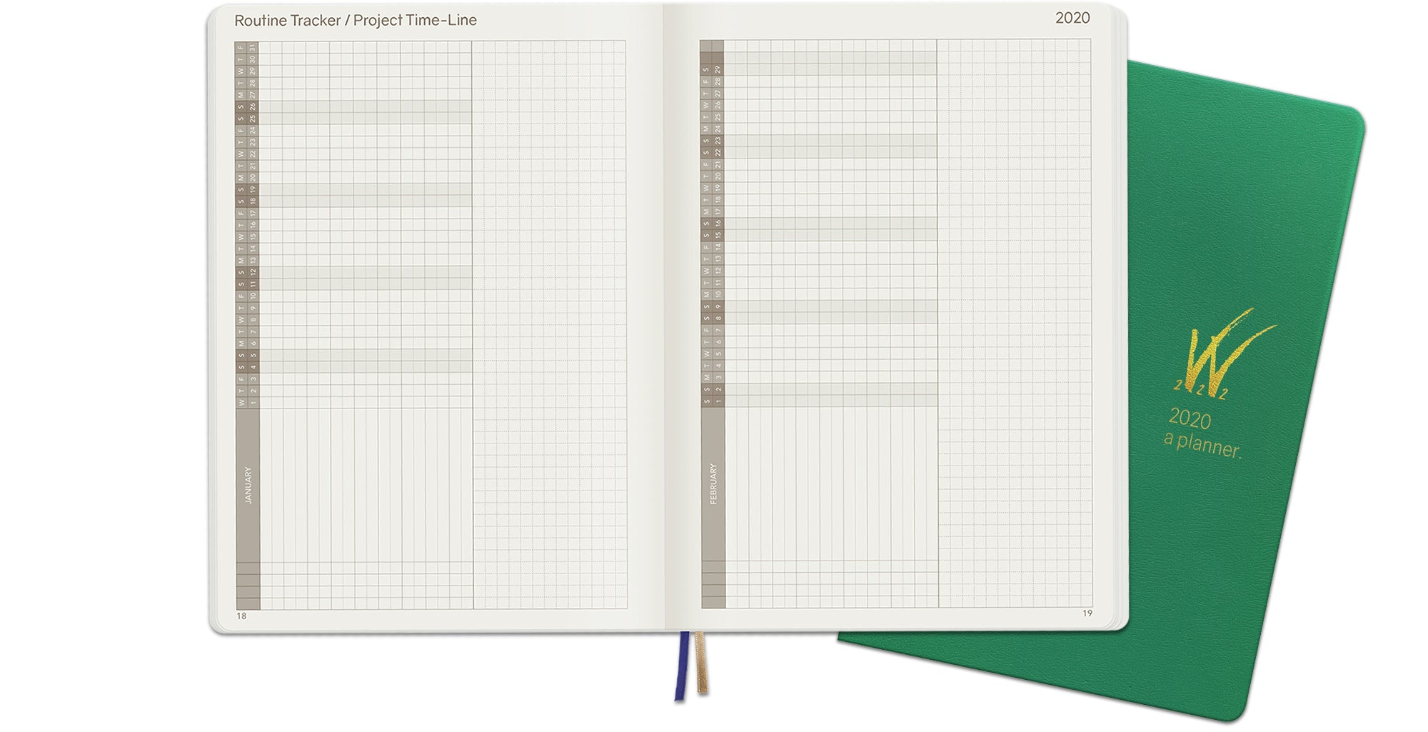 2020 A5 Tomoe River Paper Weekly Planner Routine Project Tracker Matrix Layout