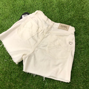 Shorts bianchi in cotone