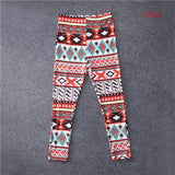 2017 Hot Mother Daughter Womens Girls Print Skinny Full Length Leggings Stretchy Trousers