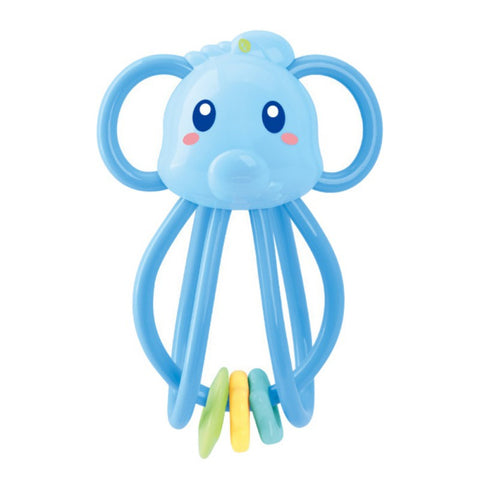 Fashion Kids Candy Rattles Develop Intelligence Grasping Toy Molar Teethers Plastic Hand Bell For Newborn Baby