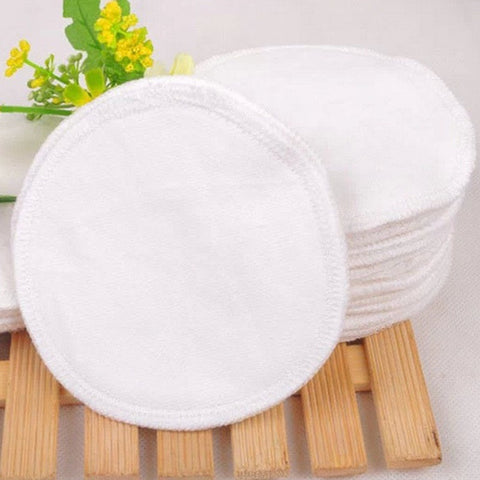 6 x Reusable Washable Breast Feeding Baby Nursing Pads Cotton Material