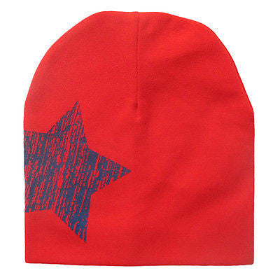 100% Cotton New Style Star Baby Hat Bib Scarf Infant Hats