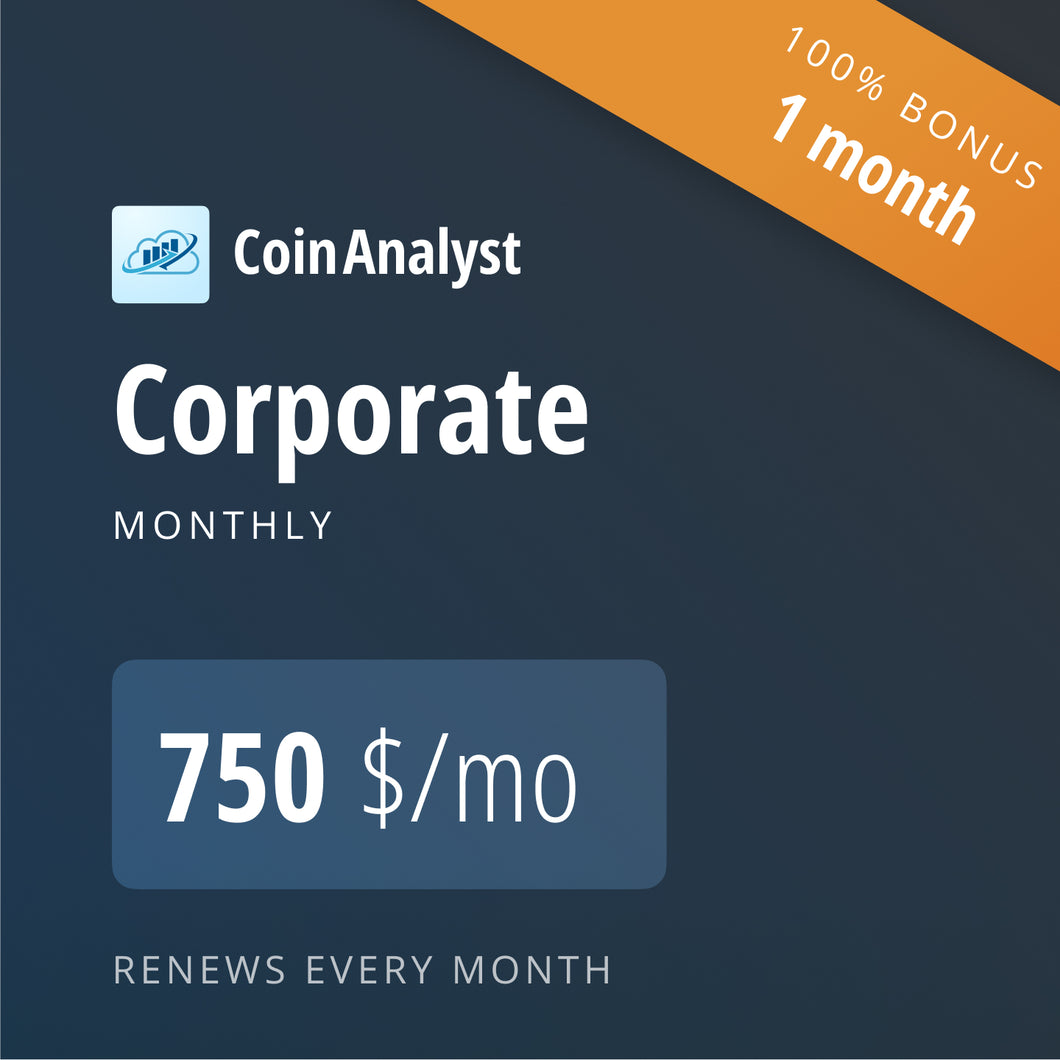 CoinAnalyst Corporate 1+1*