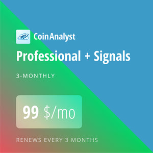 CoinAnalyst Professional with Signal 3*