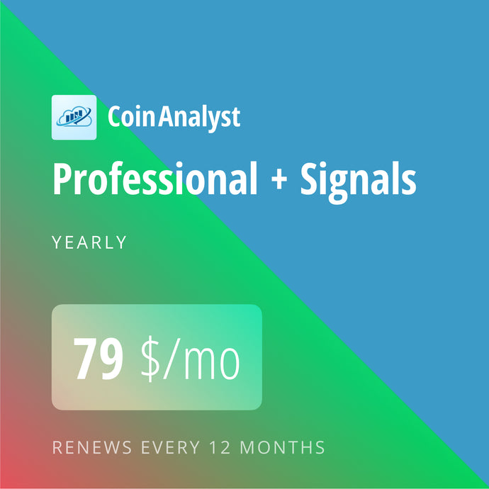 CoinAnalyst Professional with Signals 12*