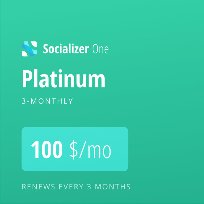 Socializer Platinum 3*