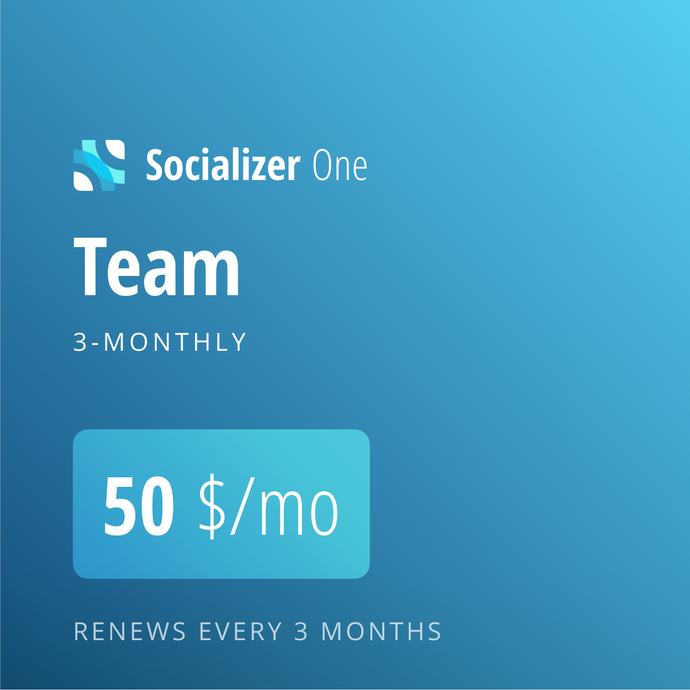 Socializer Team 3*