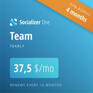 Socializer Team 12+4*