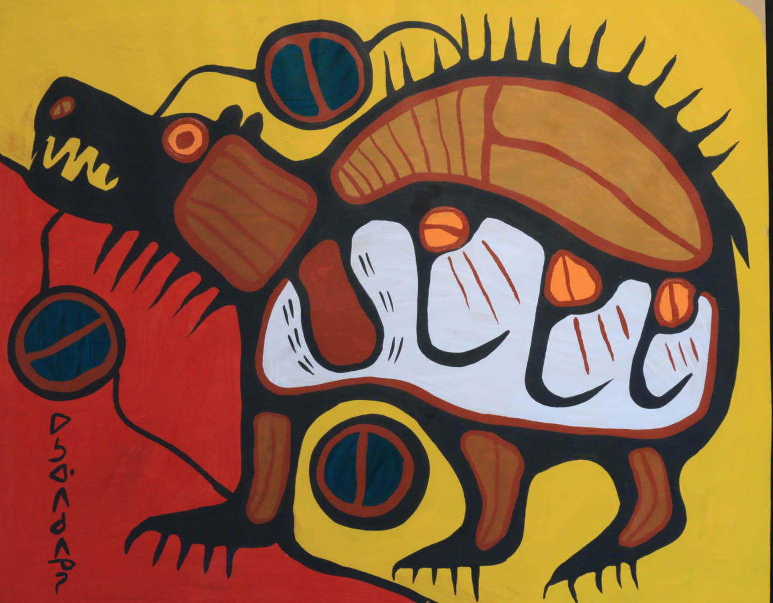 How Norval Morrisseau Became Copper Thunderbird
