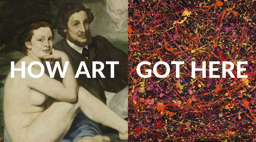 How Art Arrived at Jackson Pollock