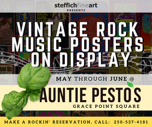 Meal time at Auntie Pesto's Cafe is rockin' + Poster Giveaway