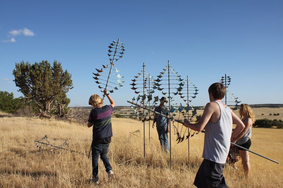 Wind Sculpture Installation Information