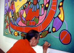 Norval Morrisseau Painting