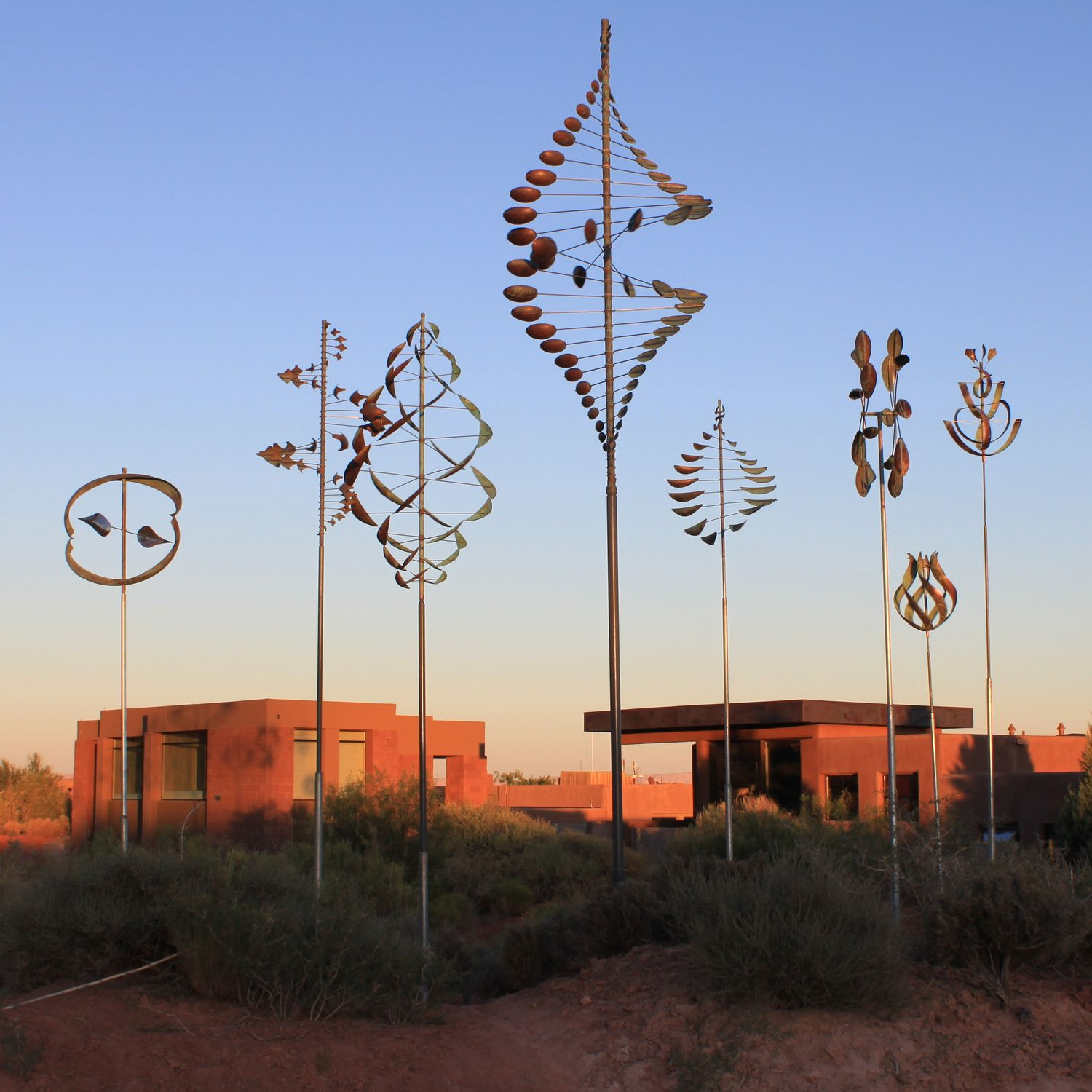 Wind Sculpture collection by Lyman Whitaker