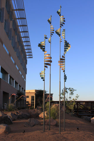 Public Art Wind Sculptures