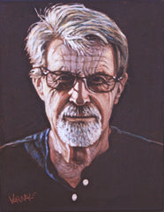 West Coast Artist Self Portrait Dan Varnals