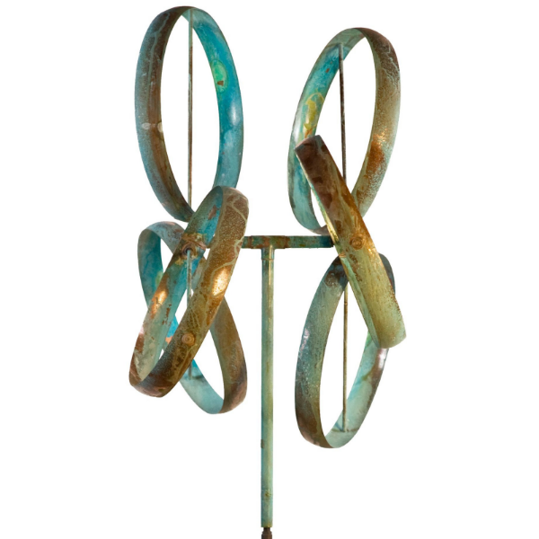 Shamrock | Wind Sculpture by Lyman Whitaker | Steffich Fine Art