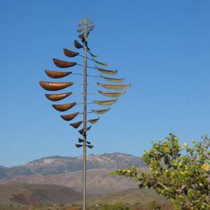 Double Helix Sail Wind Sculpture by Lyman Whitaker | Steffich Fine Art