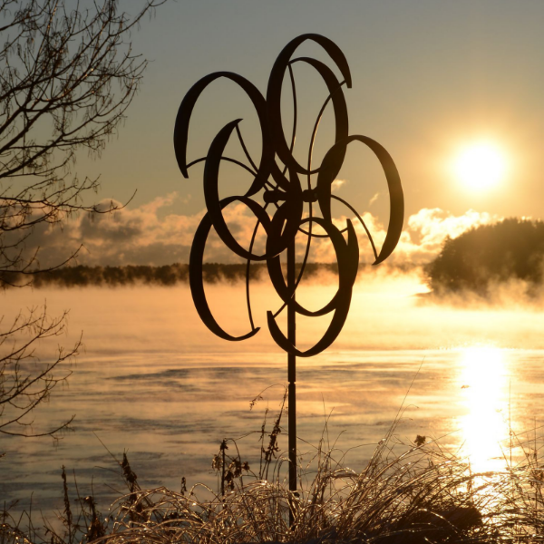 Counterpoint Windsculpture by Lyman Whitaker | Steffich Fine Art