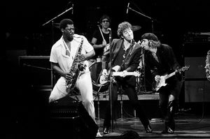 Bruce with Clarence Clemons & Steve Van Zandt